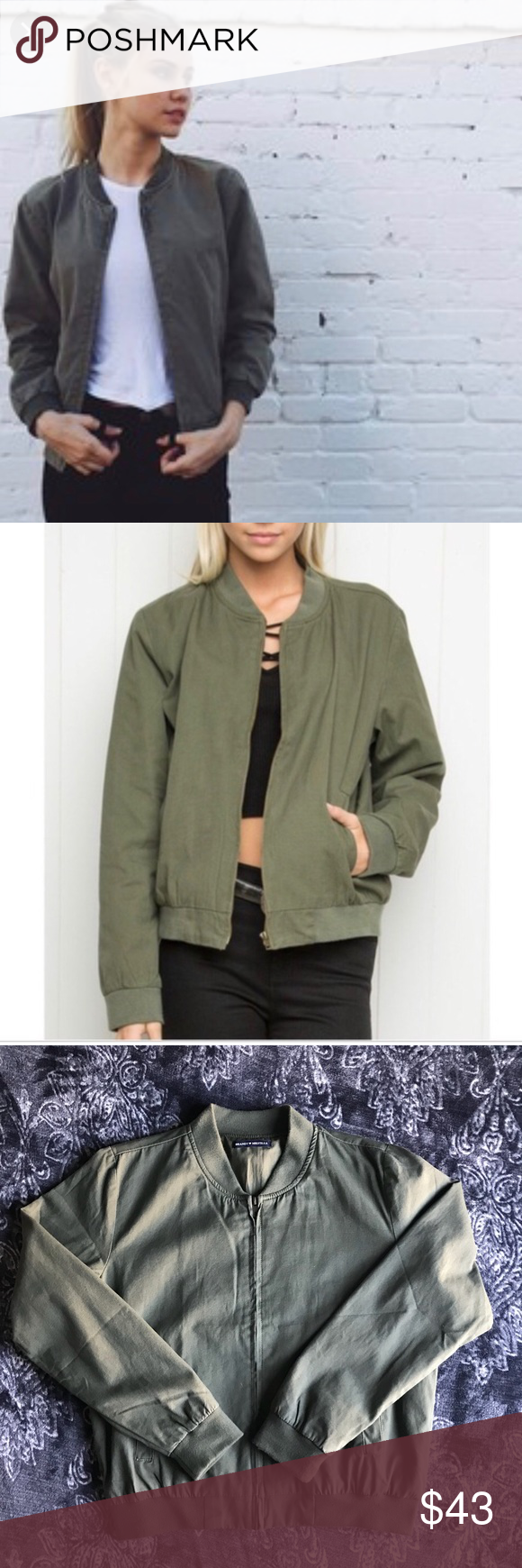 Rote jacke brandy melville
