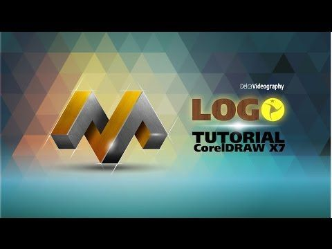 AVANZADO) TUTORIAL 23 Corel DRAW X7: LOGO 3D PROFESIONAL - YouTube