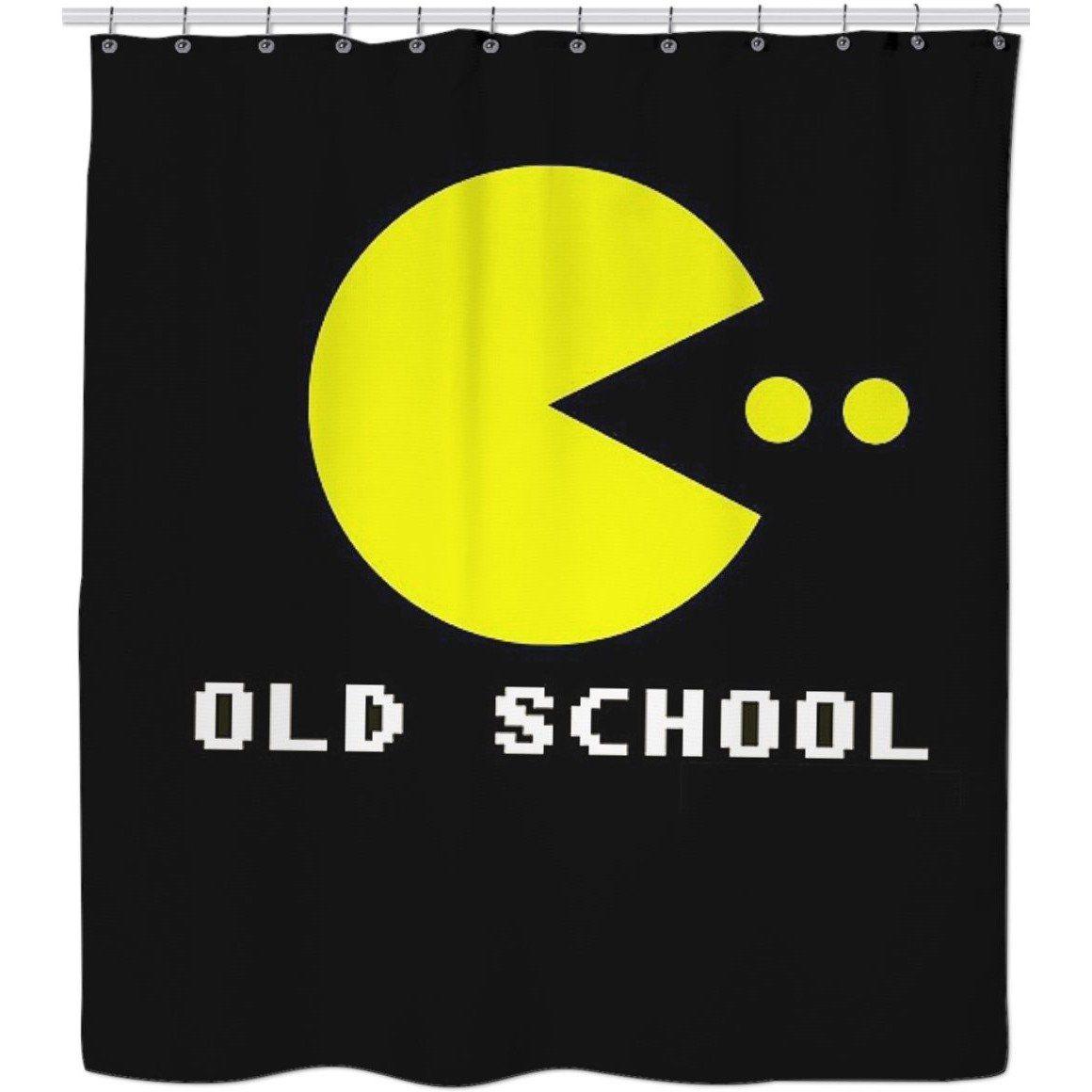 ROSC Pac Man Shower Curtain
