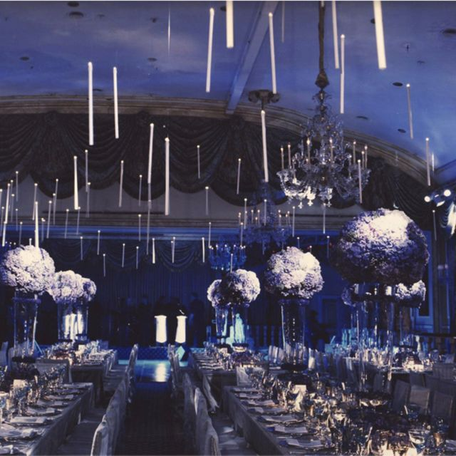 Floating Candles Like In The Great Hall Harry Potter Wedding Is