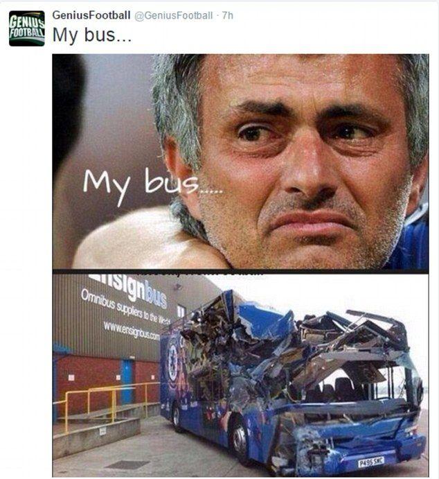 Jose Mourinho Virals Memes Mock Chelsea Boss Following 3 0 Defeat Jose Mourinho Premier League Champions Mocking