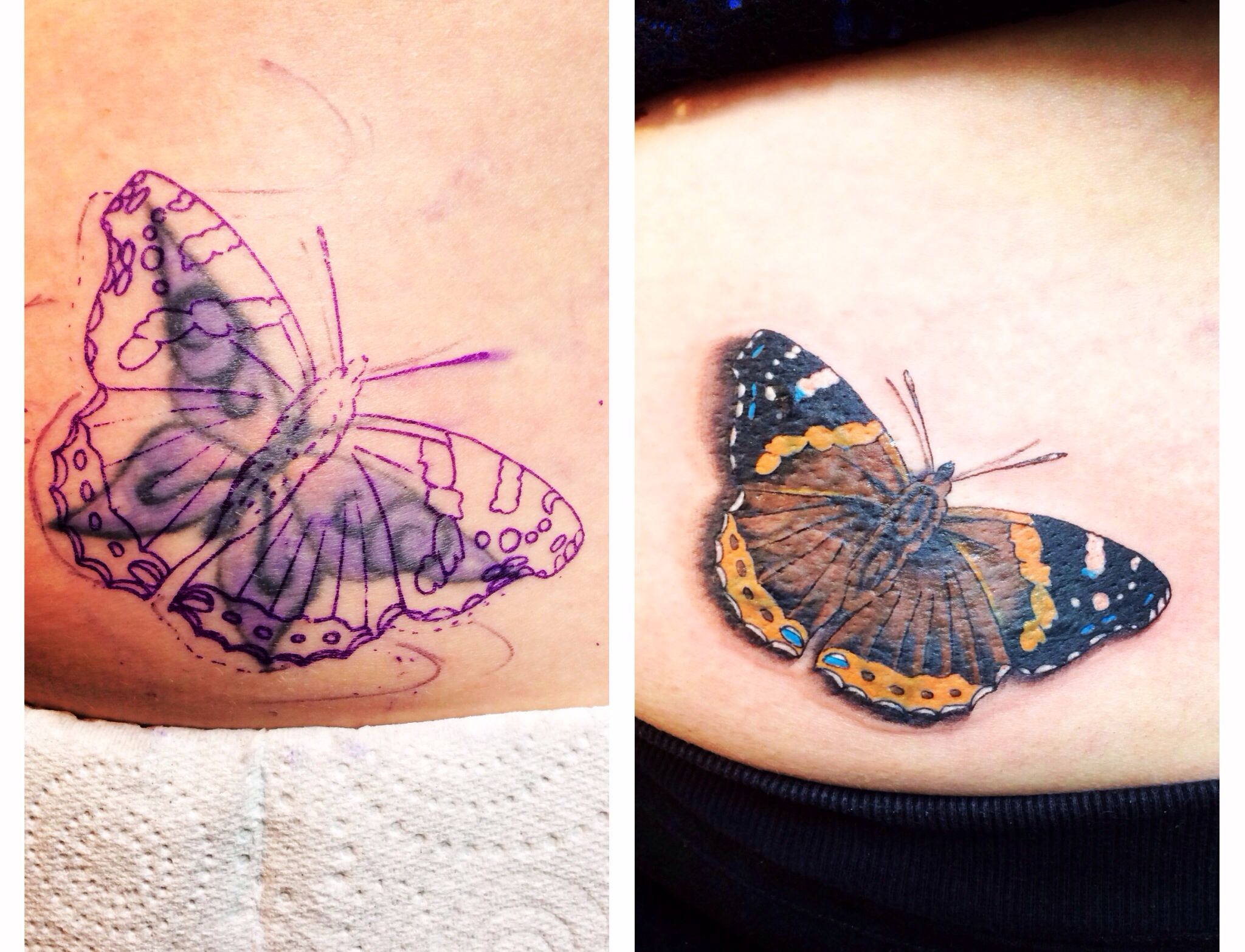 I'm not much of a flower/butterfly girl, but the ones I've ...
