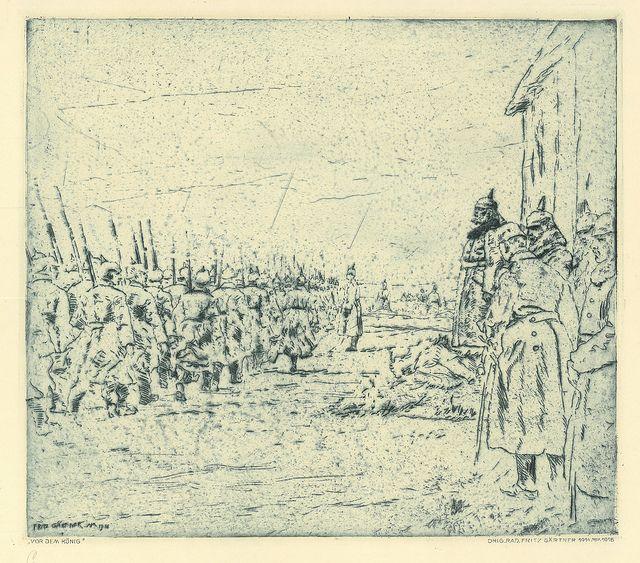 Fritz Gärtner, 1916.