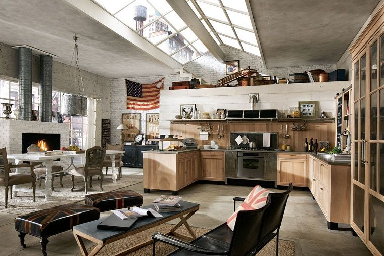 Cucina stile industriale: idee e suggerimenti per un ambiente dal ...