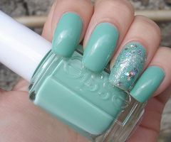 This is my fav polish. Mint Candy Apple.