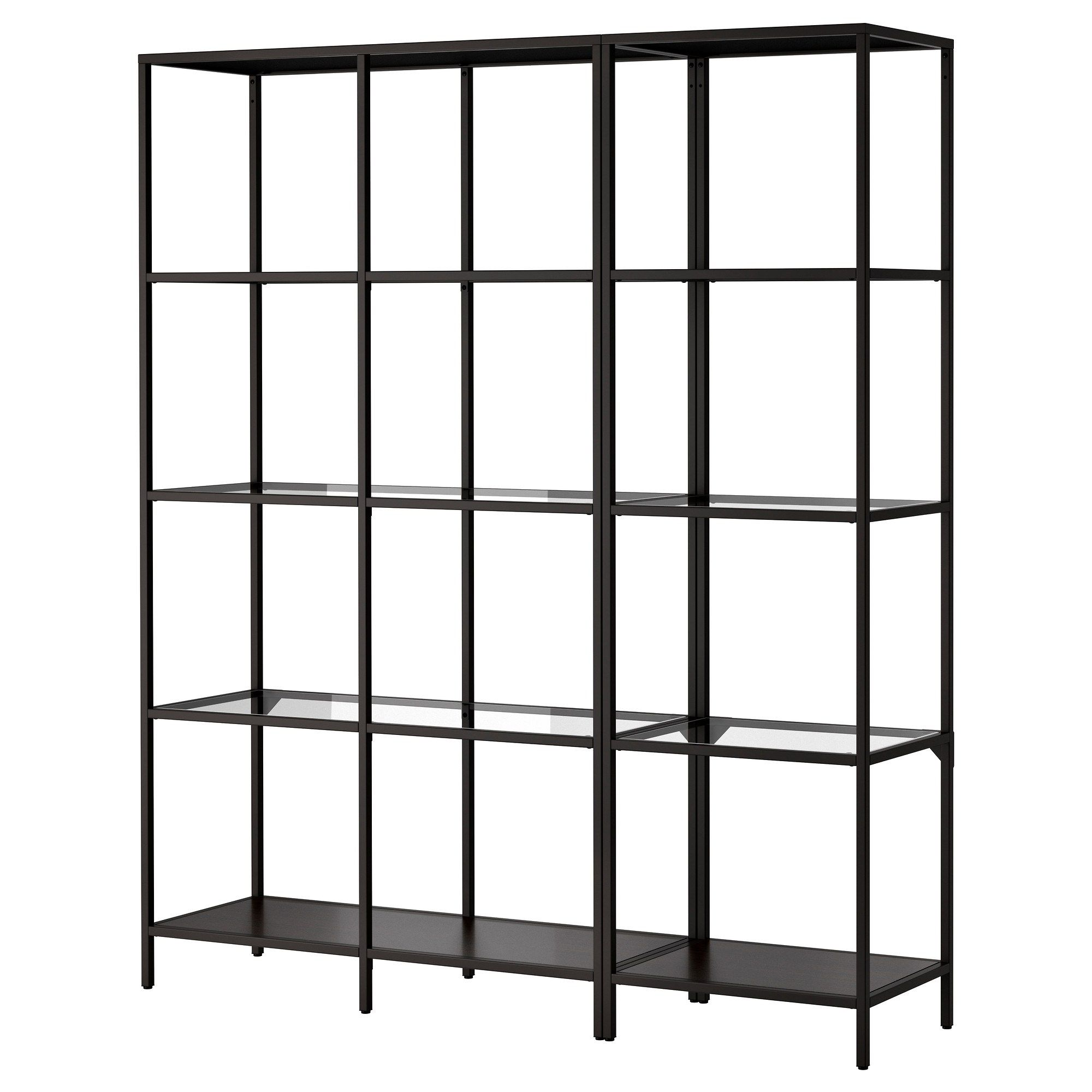 Glasregal Ikea Kreative Offene Regal Bücherregal Ikea Möbel Ikea Shelving