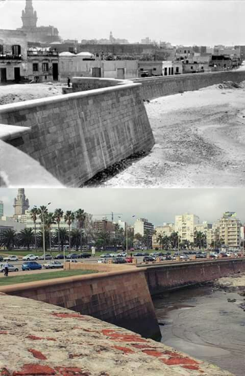 Rambla Sur Ayer Y Hoy Con Imagenes Uruguay Republica Oriental
