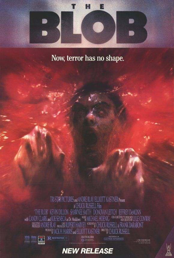 The Blob 1988 Movie Posters From Classic Horror Movies