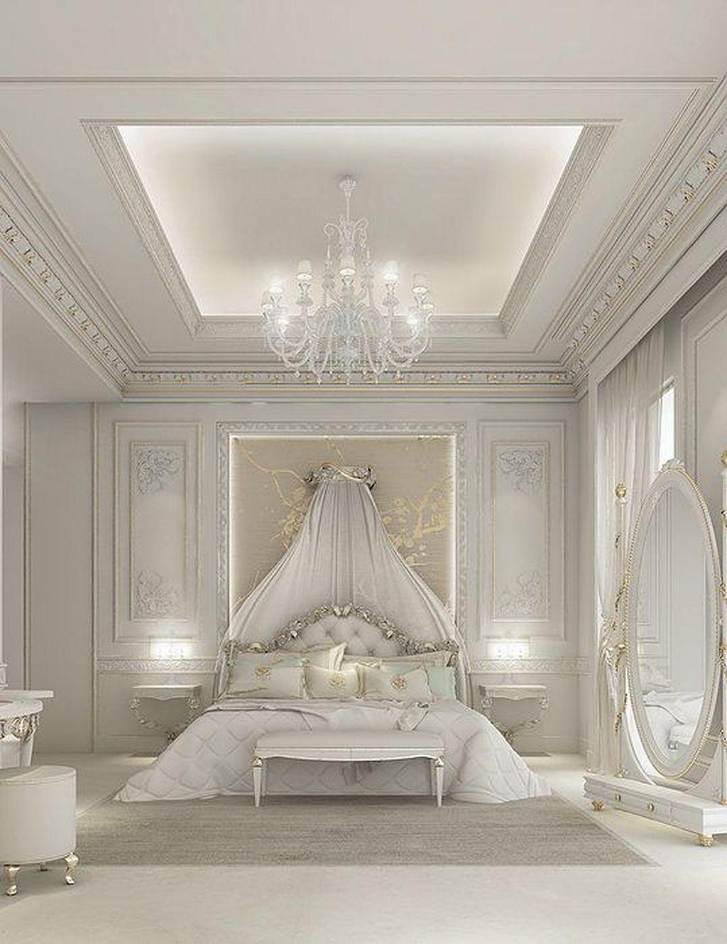 Wonderful White Master Bedroom Interior Design15 In 2020 Luxury Bedroom Master Luxurious Bedrooms Master Bedroom Interior