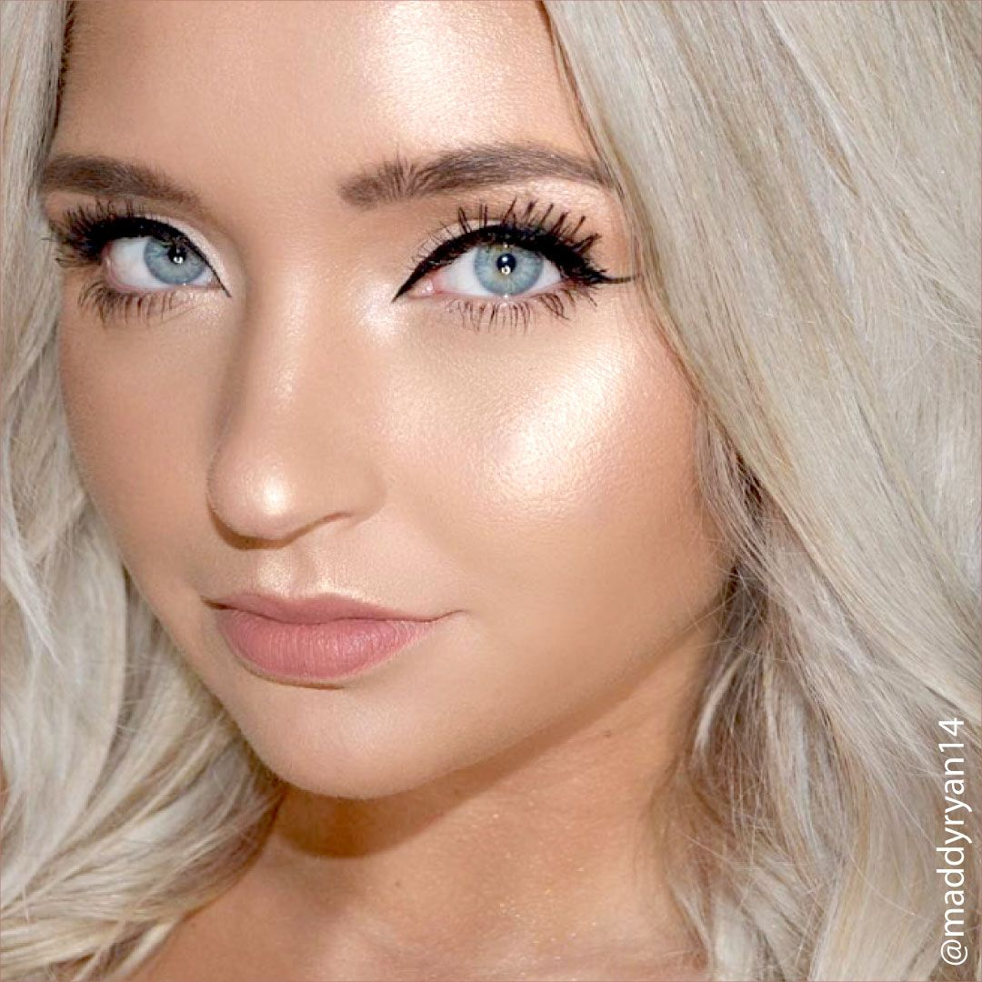 Maddy Ryan has the perfect summer glow makeup look down