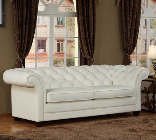 25 Chesterfield Sofas That Are Sure To Really Tie Your Room Together Sofa And White Leather