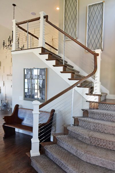 Feeney CableRail from DecksDirect   Diy staircase, Stair ...