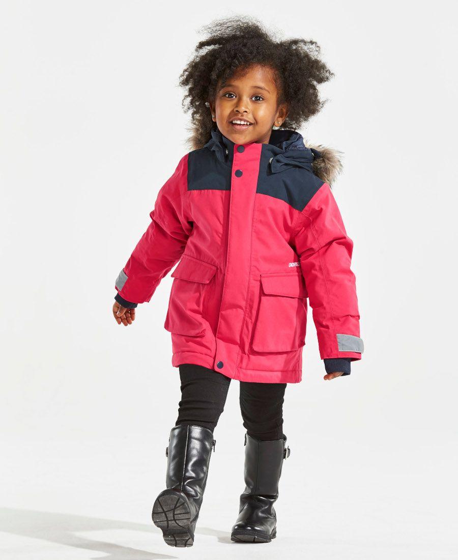 1bb3ef9eb0 Didriksons Kure Kids Parka Jacket - Warm Cerise. SPORTBABY