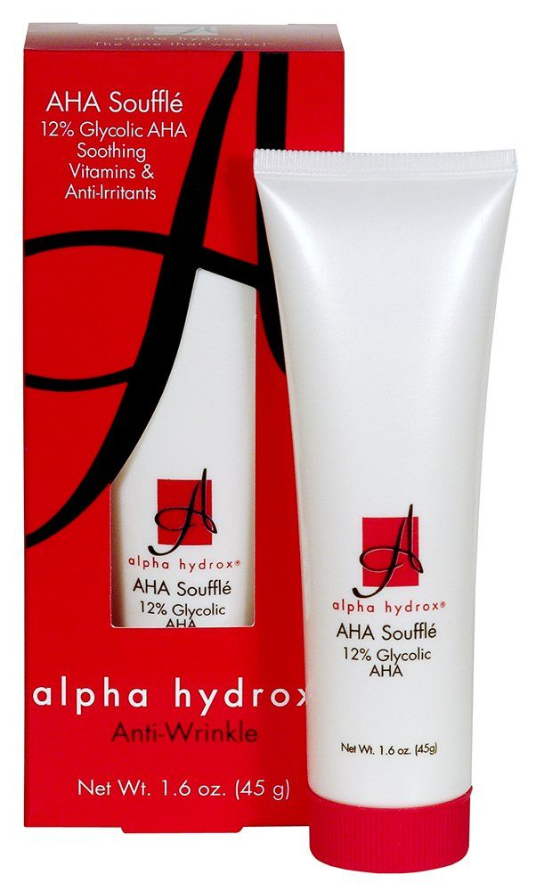 Amazon Com Alpha Hydrox Aha Souffle Soothing Anti Wrinkle 1 6 Oz Beauty Alpha Hydrox Skin Care Moisturizer Skin Lightener