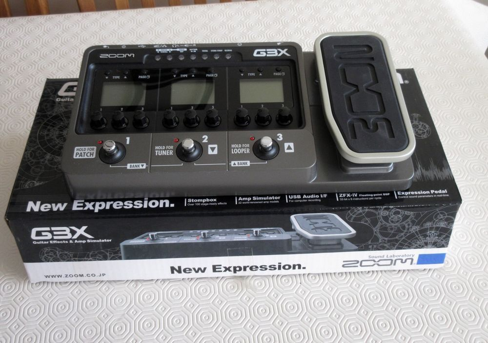 Zoom G3X Guitar Pedal Windows 7