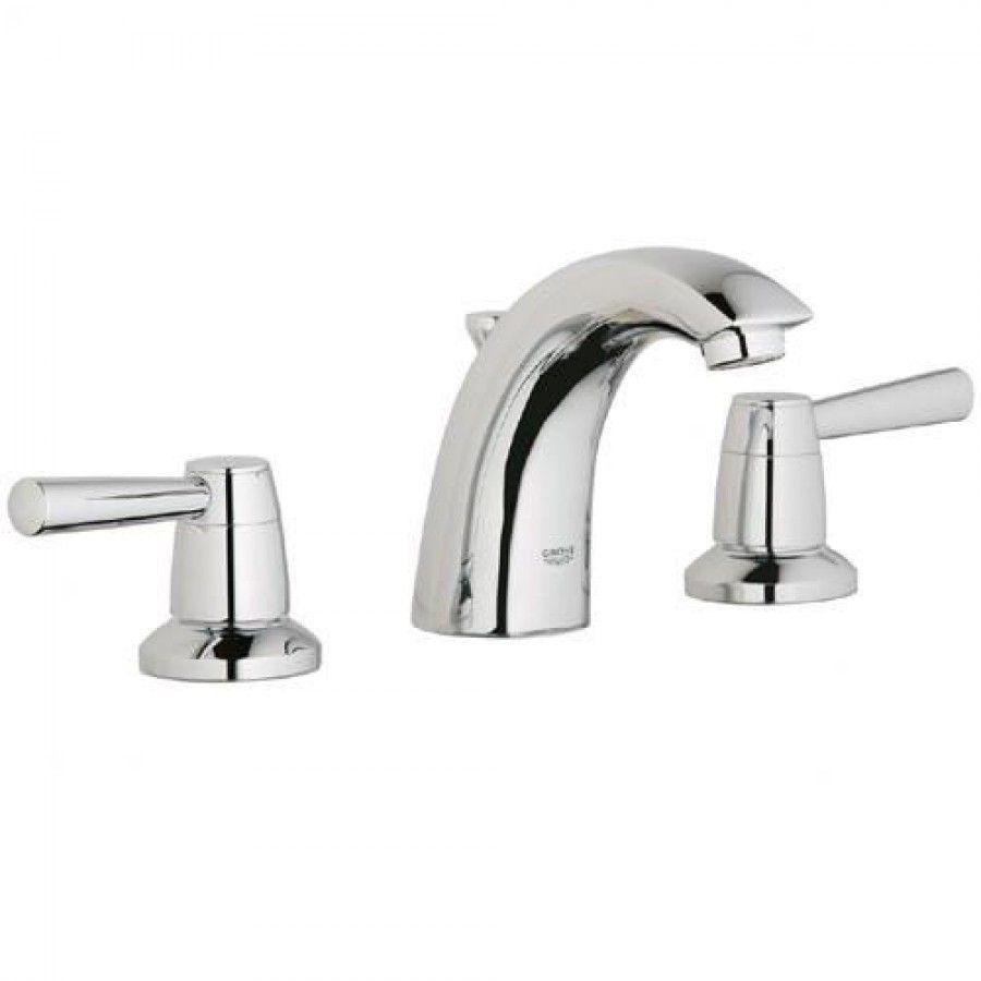grohe arden wideset bathroom faucet