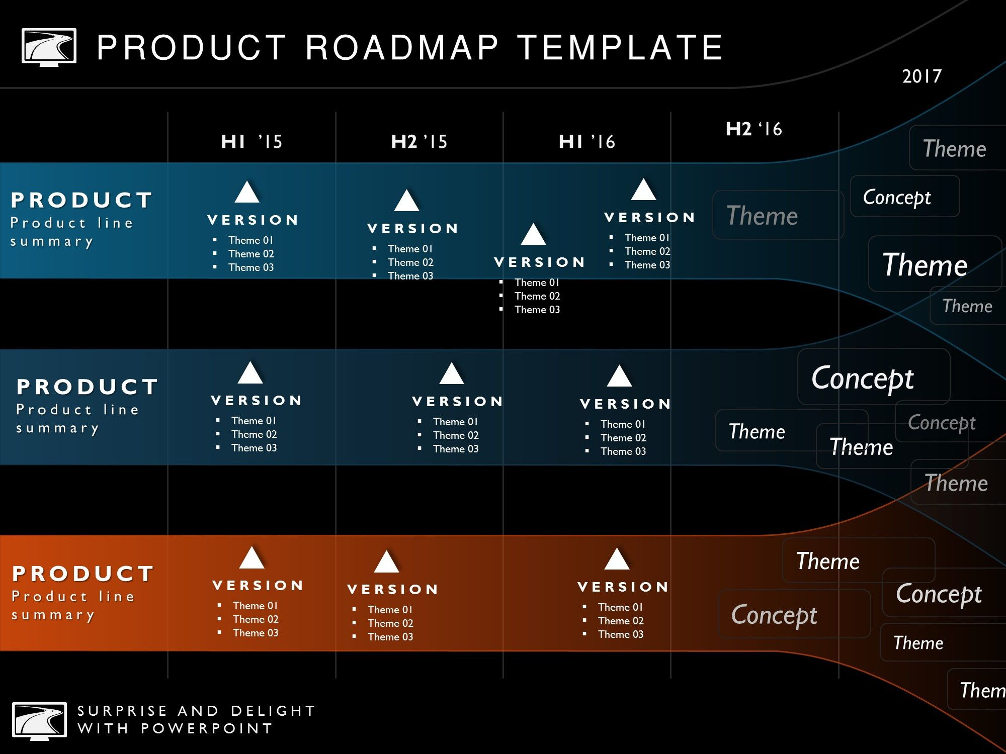 Six Phase Development Strategy Timeline Roadmap Presentation