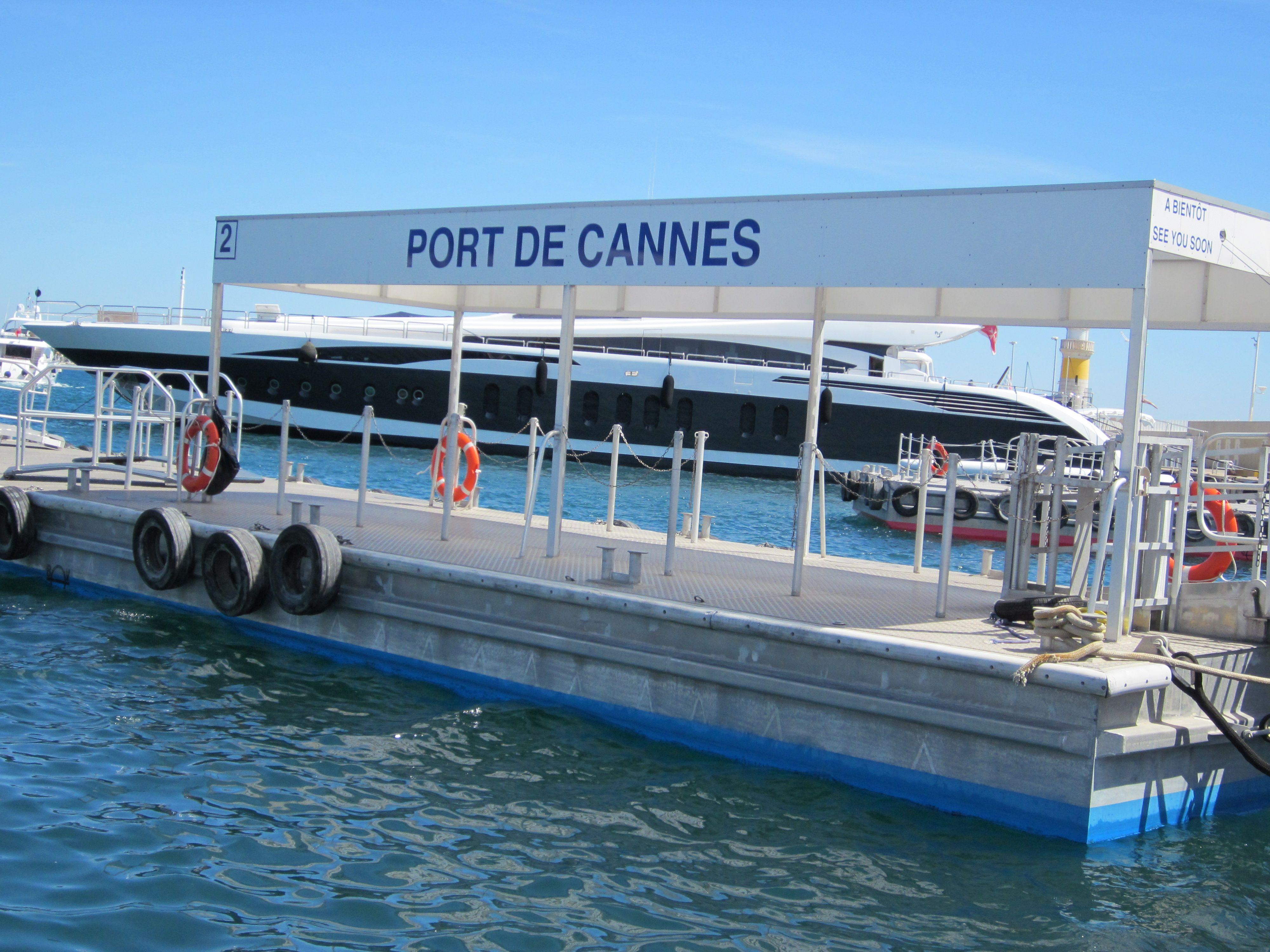 Au départ du Port de Cannes !