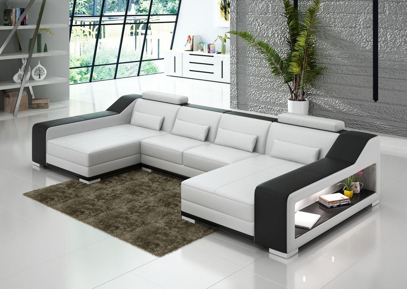 Sydney Double Chaise   Leather corner sofa, Corner sofa ...