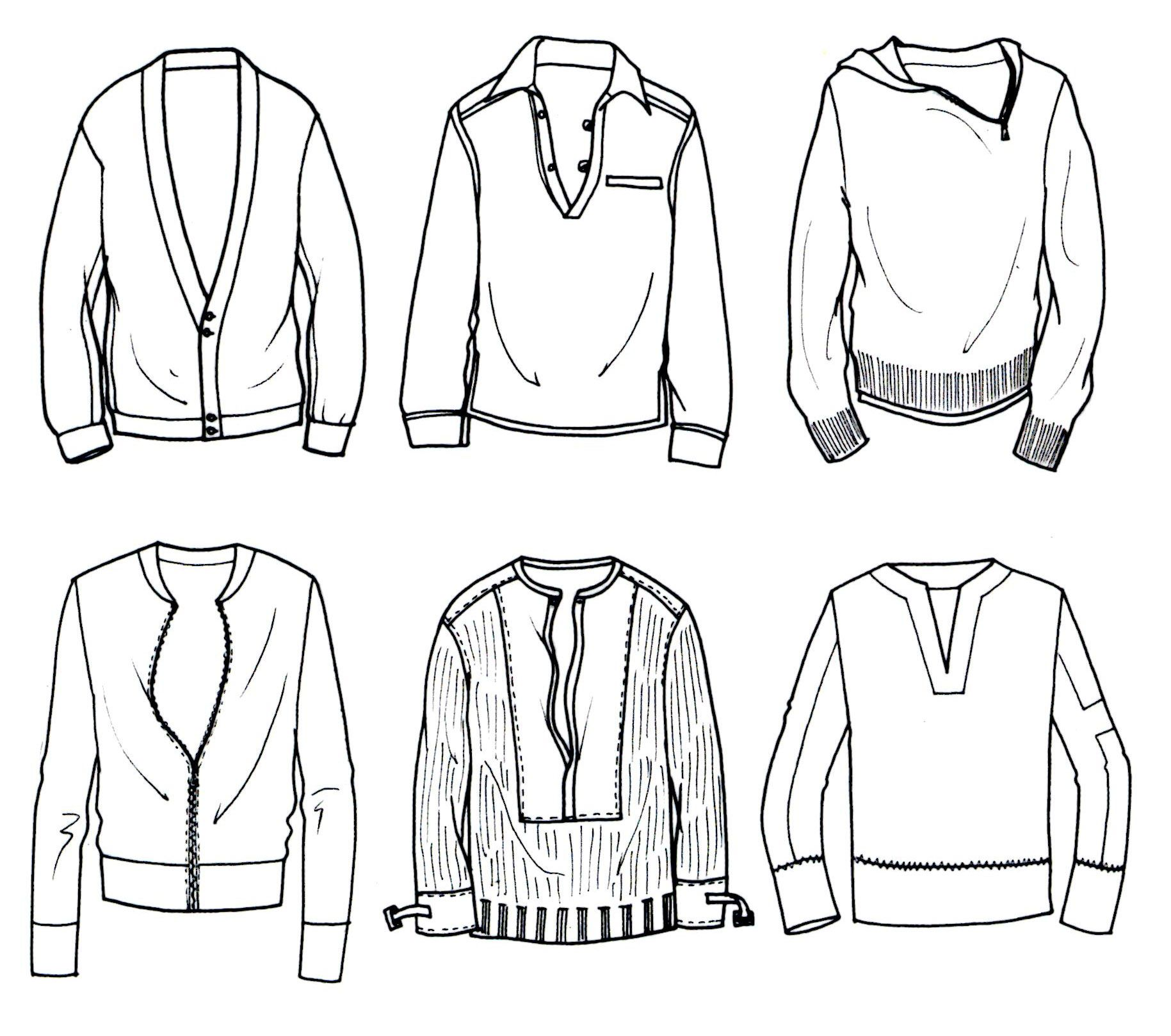 Men\'s Knit - top right corner | Menswear Flat Inspiration ...