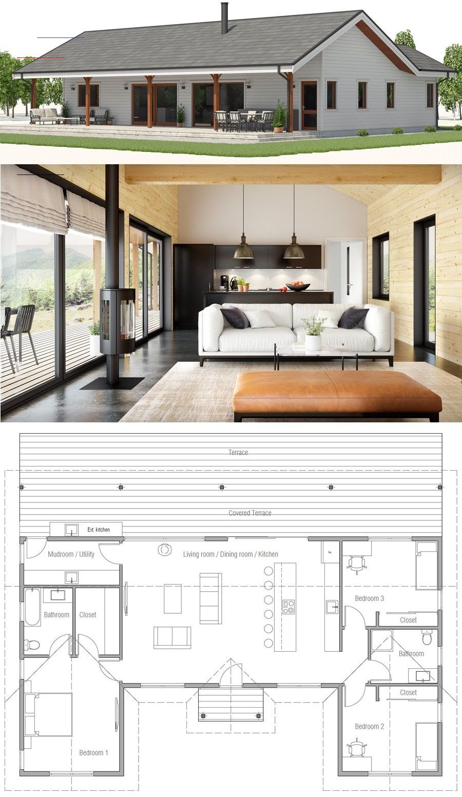 Pin By Kai Moishe On Home New House Plans House Plans Farmhouse Small House Plans