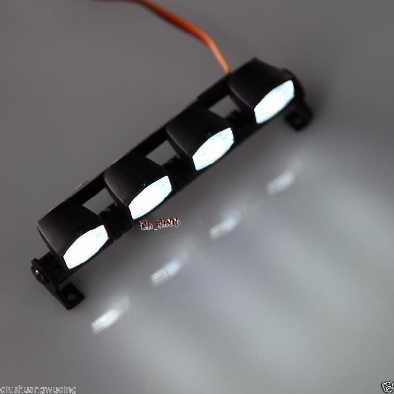 Rc car led light bar white square lights for 110 18 scale rc car rc car led light bar white square lights for 110 18 scale aloadofball Image collections