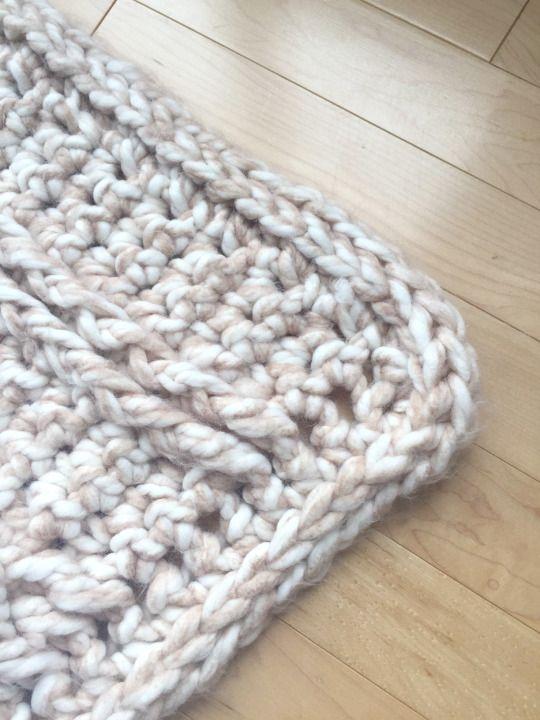 Chunky Braided Cabled Blanket | Afghans | Pinterest | Cobija, Bebé y ...