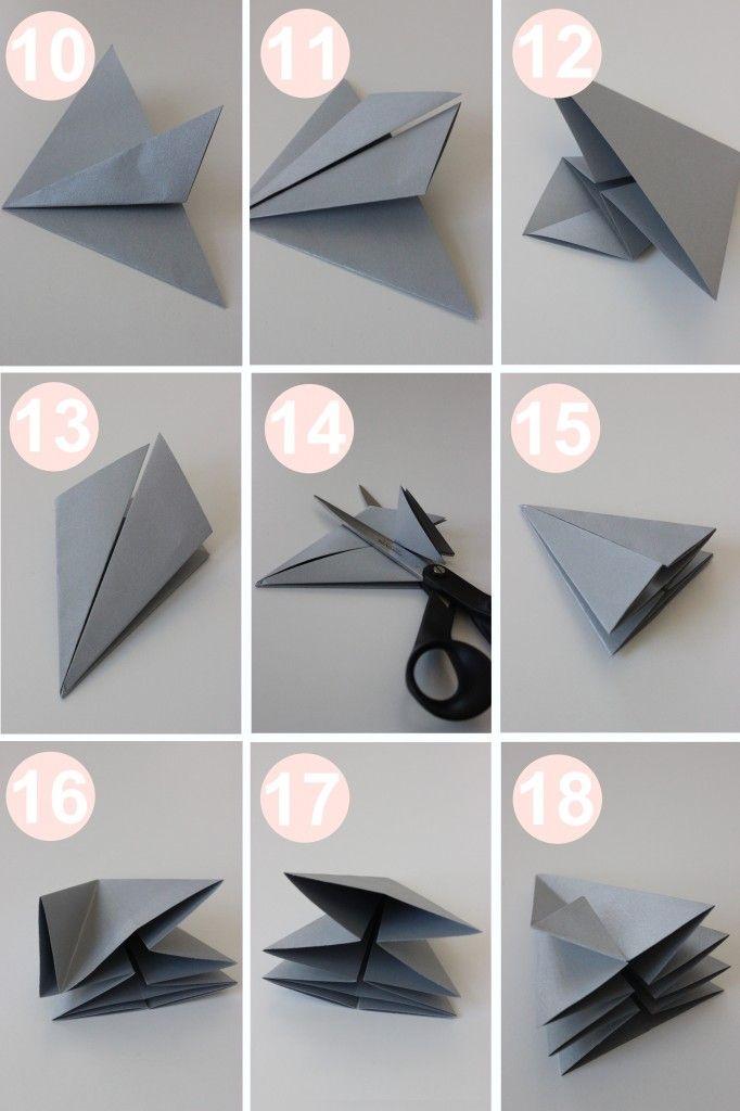 Origami Diamant Anleitung