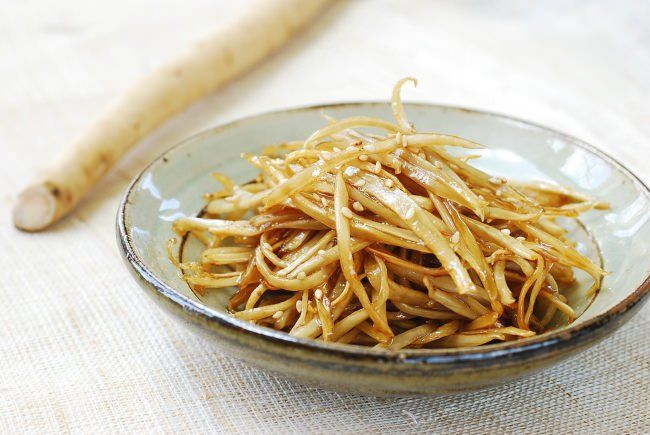 Autumn is a good time to start eating more root vegetables. Burdock root is very popular in Asian countries. It's full of nutrients and an excellent source of fiber.