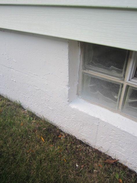 Painting A Concrete House Foundation
