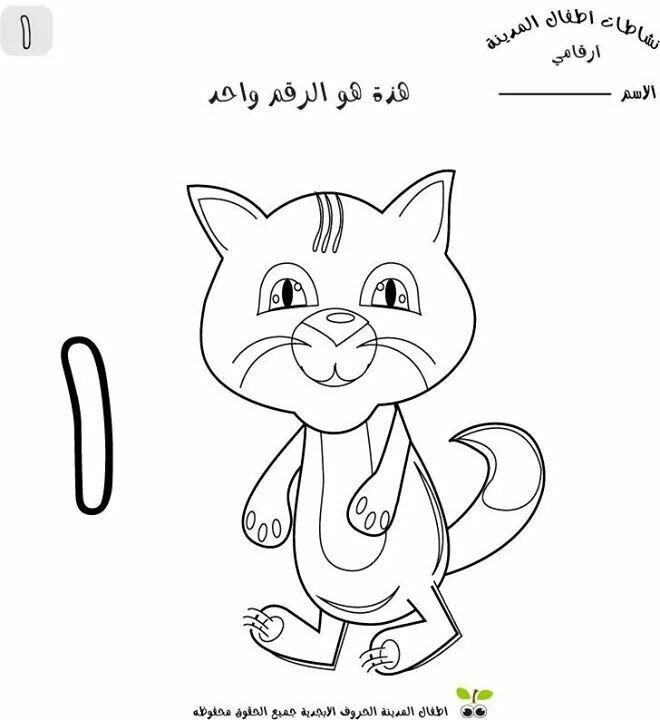Pin By Aa Aa On اوراق عمل ارقام عربية Arabic Alphabet For Kids Arabic Kids Alphabet Preschool