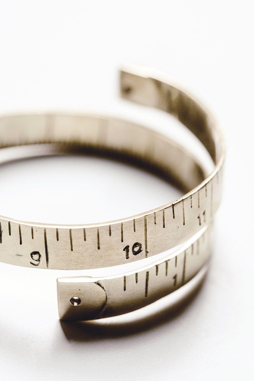 Brass Tape Measure Bracelet — heirloomed linen aprons