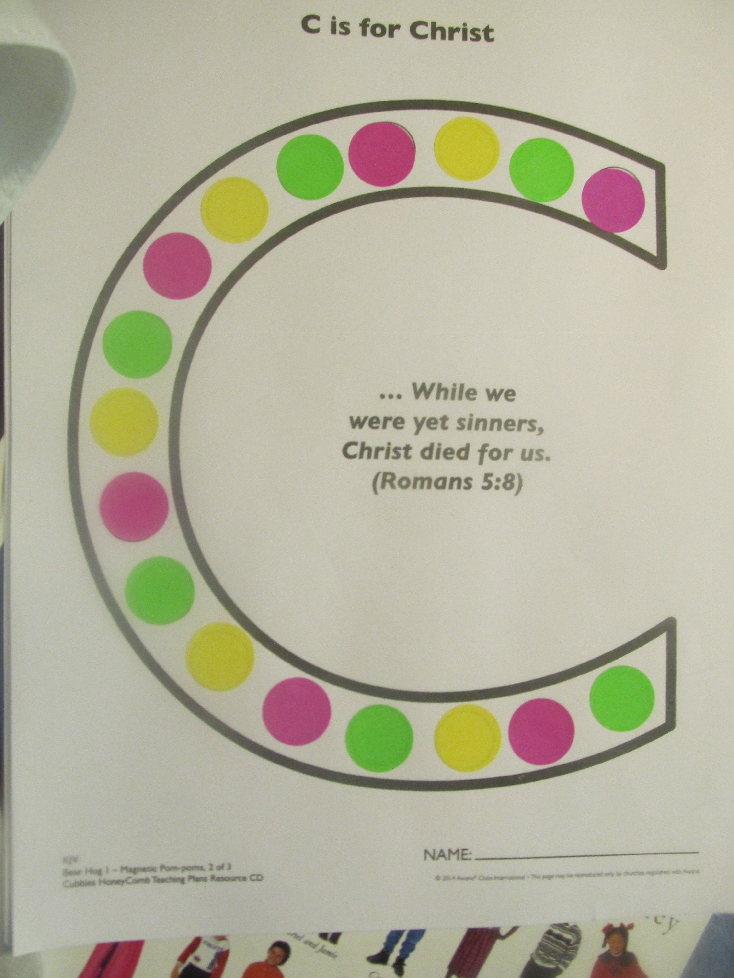 C Is For Christ