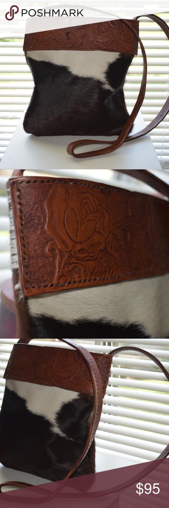 The Roxy bag Handmade Cowhide Crossbody