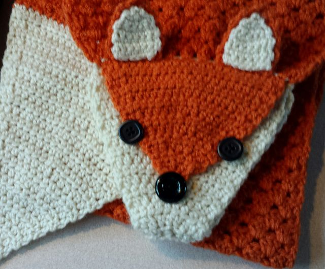 Fox Scarf Pattern By We R Soto Design Fox Scarf Foxes And Scarves