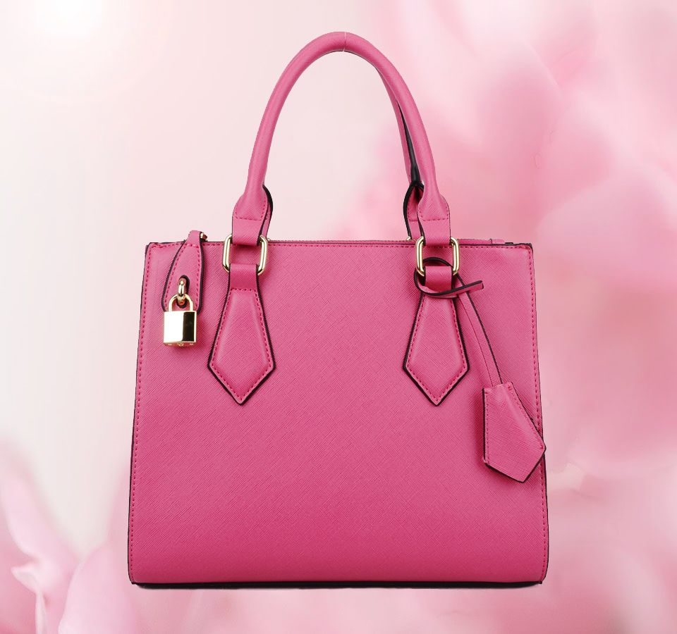 a5eecb0f65047 pinke Handtasche