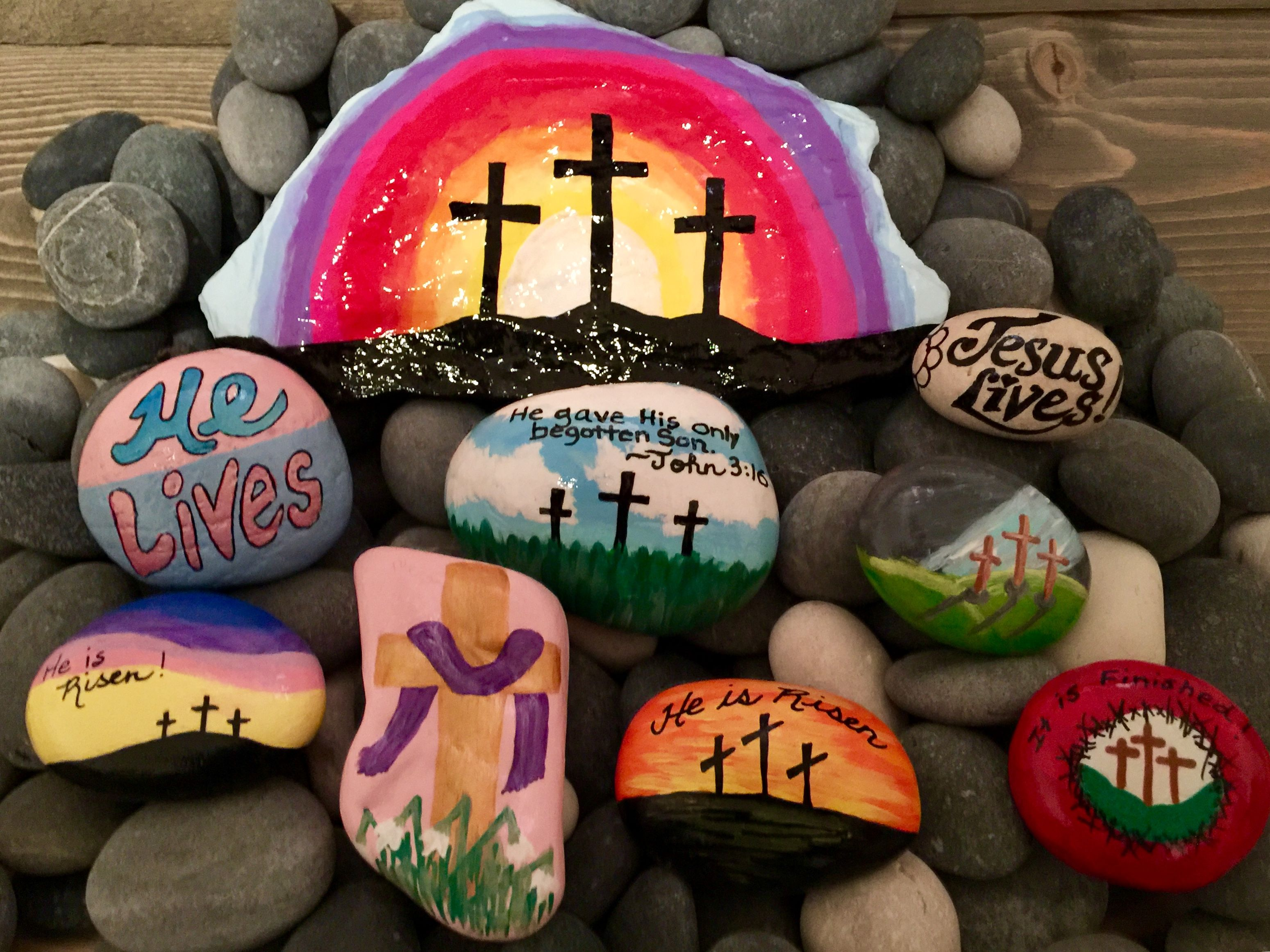 Pin On Rocks Painted By Me