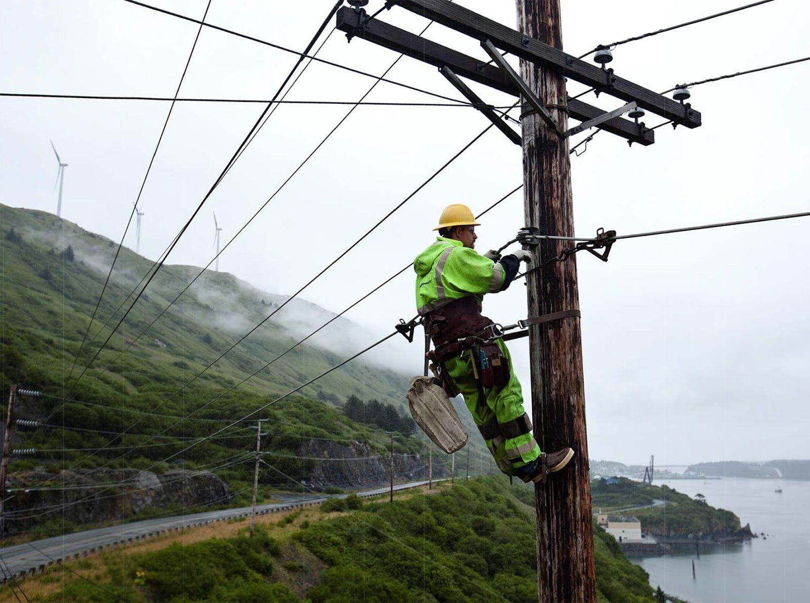 Electrical Lineman Sustainable Kodiak Kodiak Electric