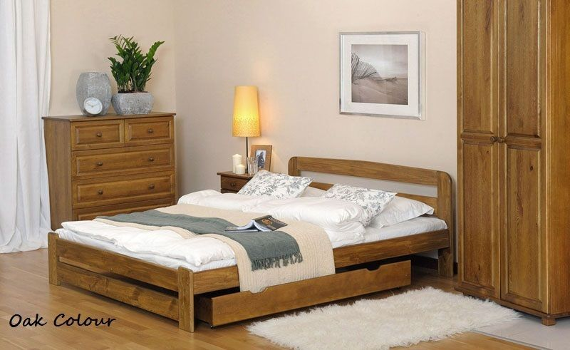 Solid Pine 6ft Super King Bed Frame Slatswith Choice Of Underbed