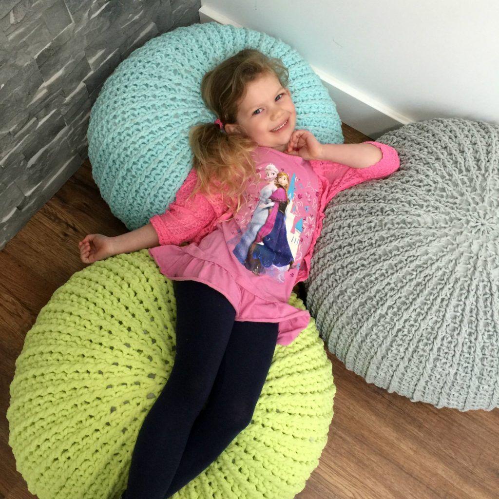 Tutoriel gratuit sur le pouf de sol au crochet – MJ's Off the Hook Designs   – Bergvliet Library
