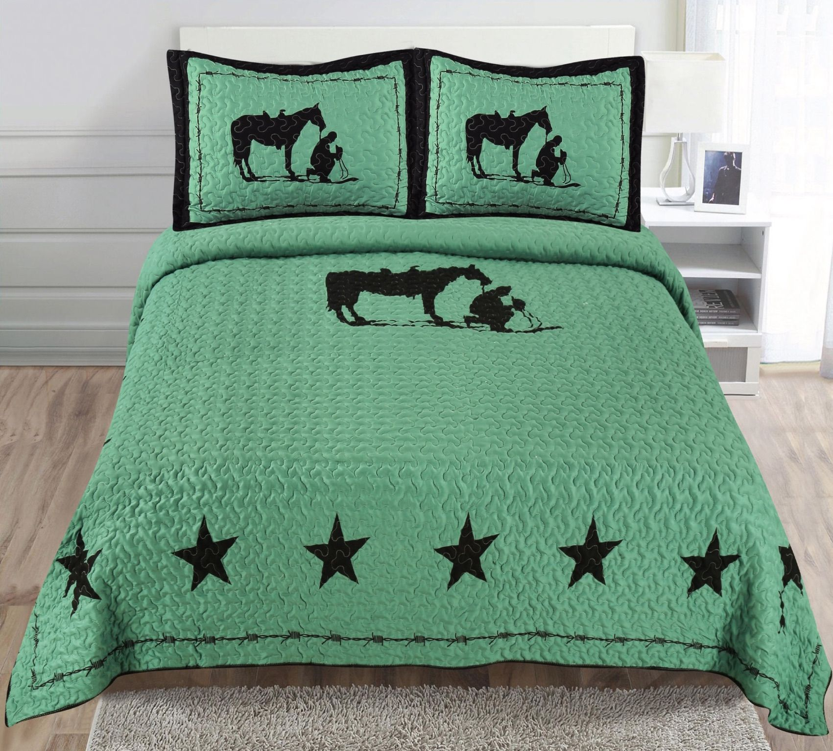 Our Lovely Praying Cowboy Quilts Are Half Off Horse Comforter Sets Bedding Set Queen Bedding Sets