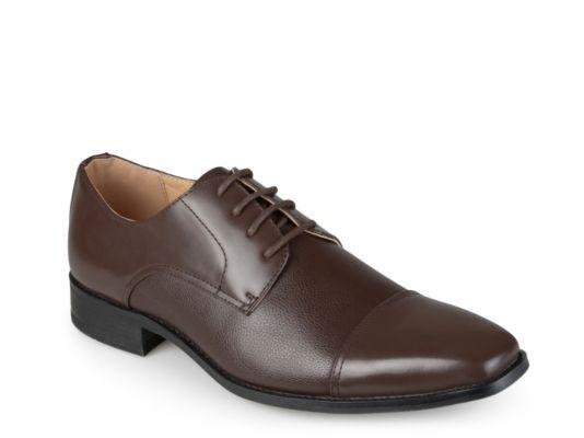 Men's Vance Co. Evan Cap Toe Oxford - Dark Brown