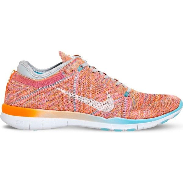 e41b7888989e4 NIKE Free TR flyknit trainers (£110) ❤ liked on Polyvore featuring shoes