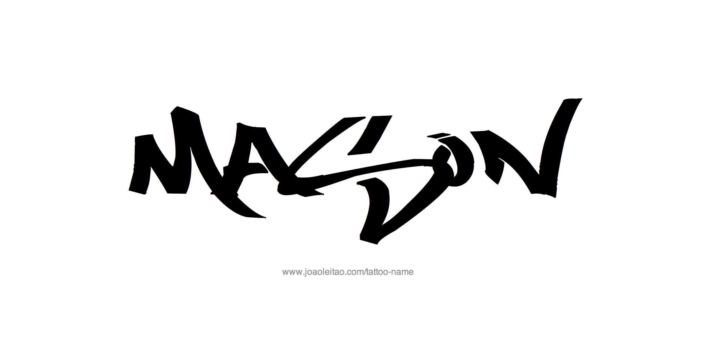 Mason Name Tattoo Designs Name Tattoos Mason Name Name Tattoo