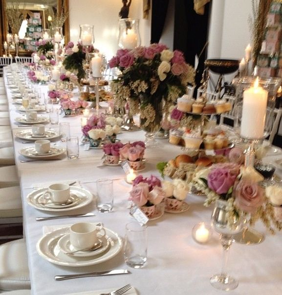 afternoon tea table setting - Google Search & afternoon tea table setting - Google Search | Weddings | Pinterest ...