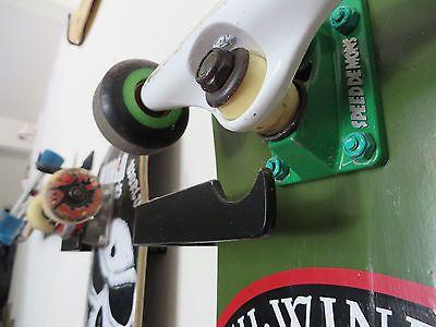 old school skateboard hanger display rack wall mount
