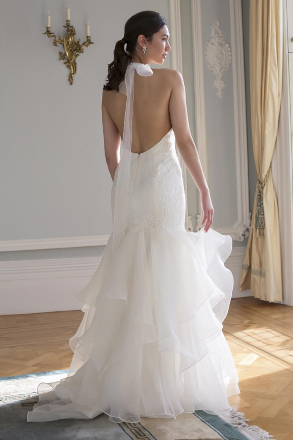 Piper by Augusta Jones is a beautiful fishtail dress with a stunning ...
