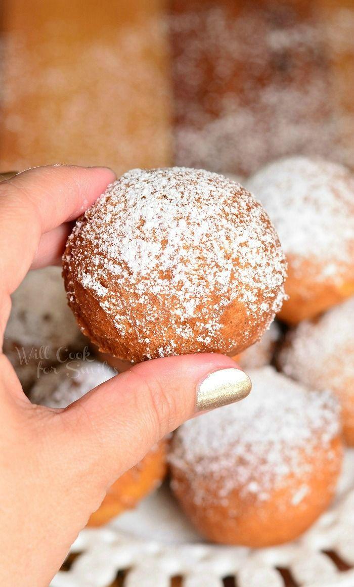 Easy Ricotta Doughnuts | from willcookforsmiles.com