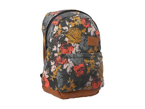 Volcom Going Back Canvas Backpack  8b564b516efeb