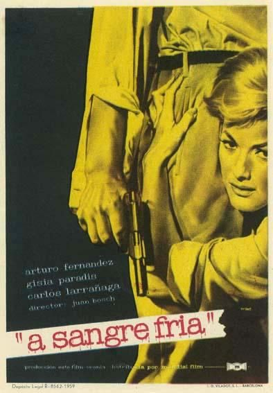 A Sangre Fria 1959 Tt0052532 Esp Carteles De Cine Cartel Cinematografico Cine